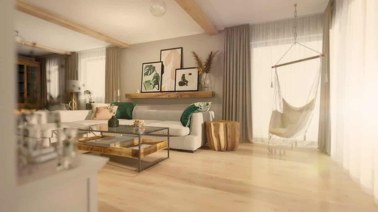 Projekt wnętrza domu | Dębogórze | Duszyńska Design