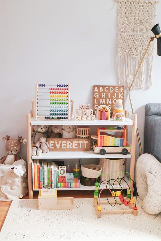 Wąski pokój dla dziecka