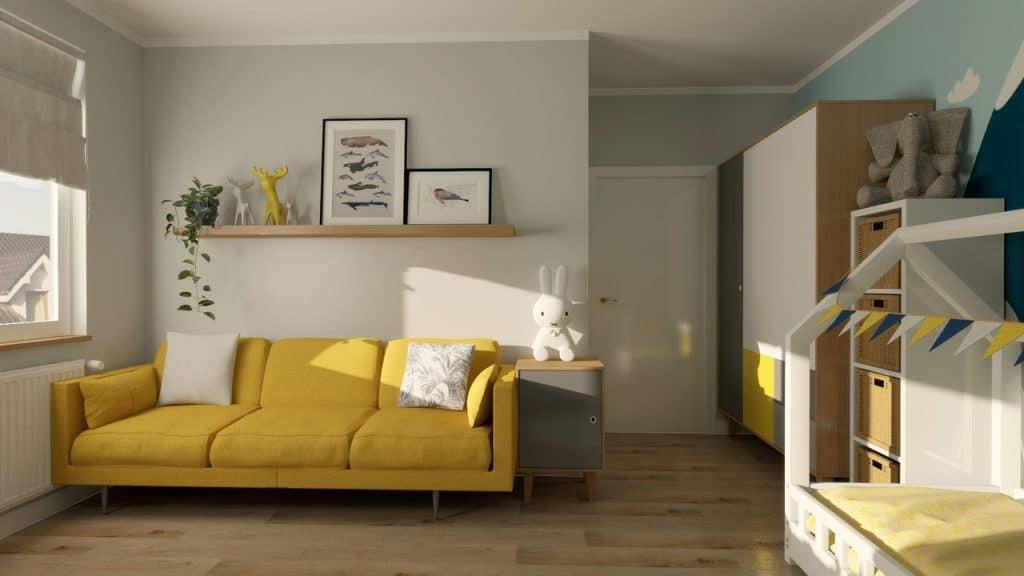 waski pokoj dla dziecka Duszynska Design 2