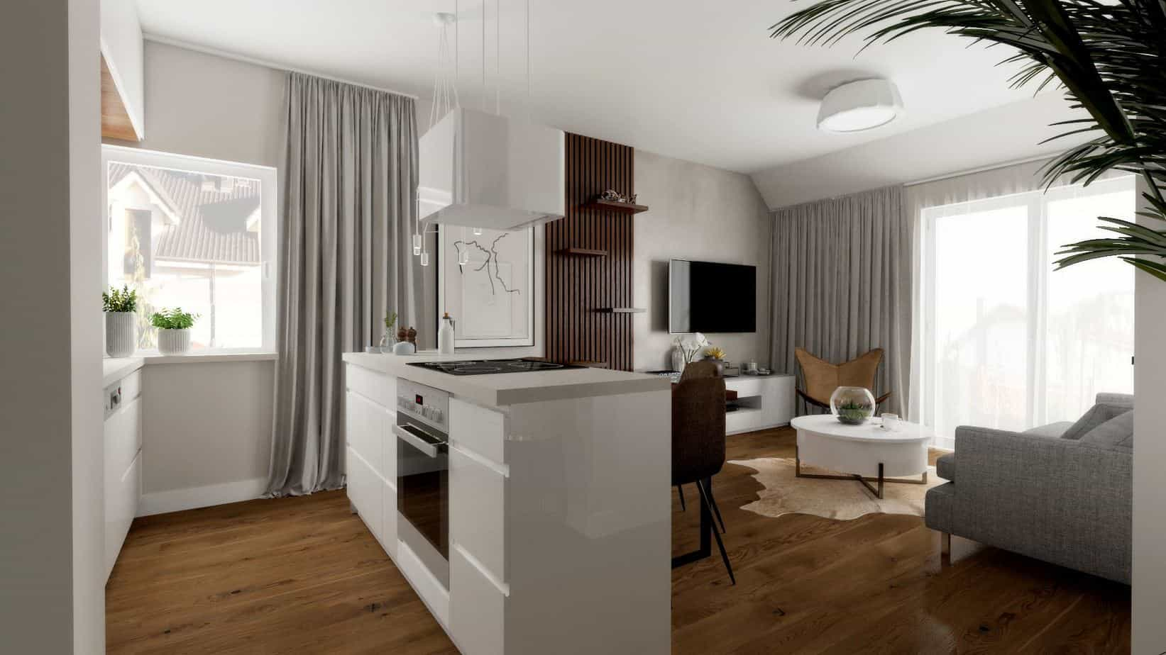 Duszynska Design Apartament Mosty 1