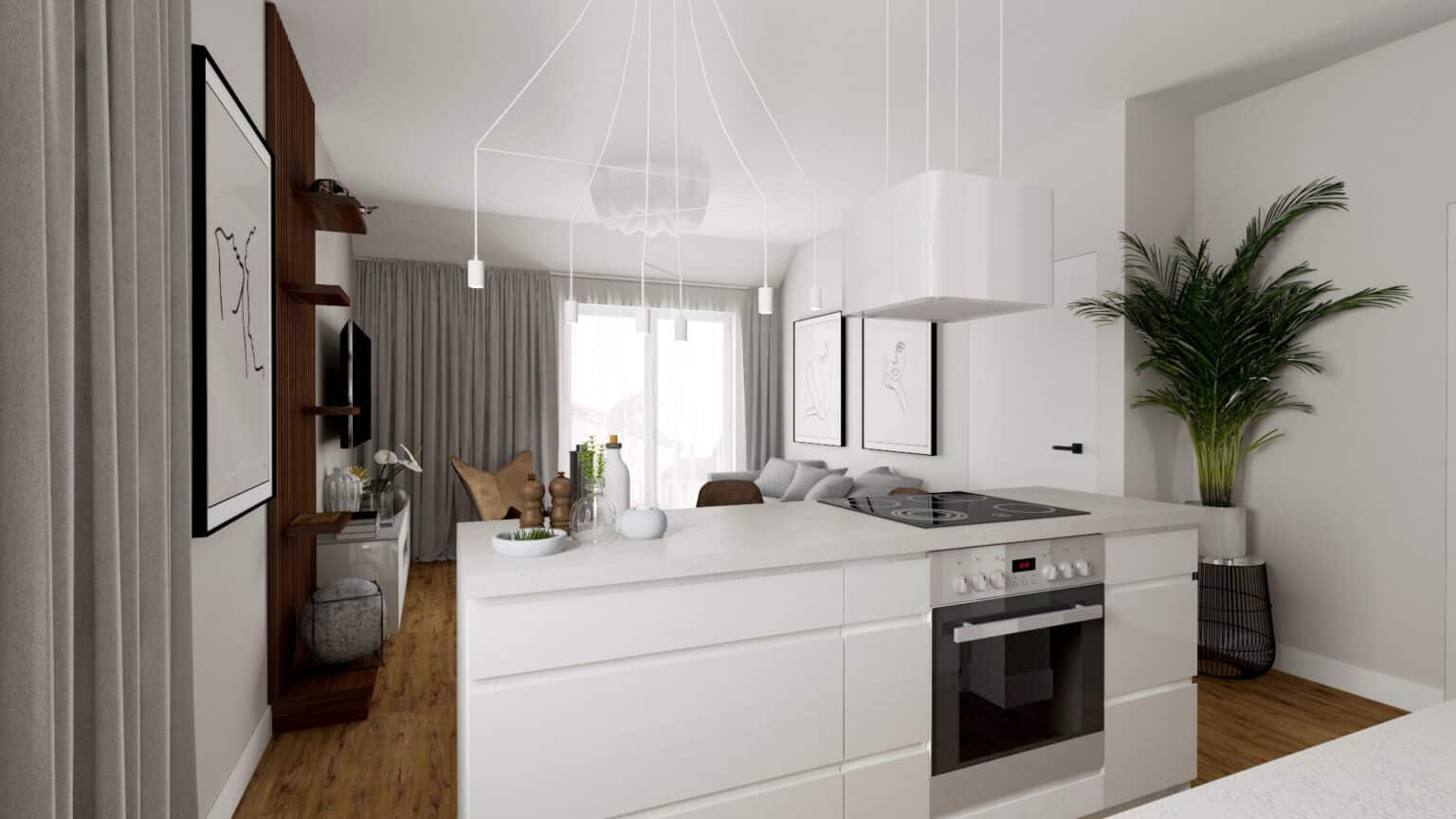 Duszynska Design Apartament Mosty 2