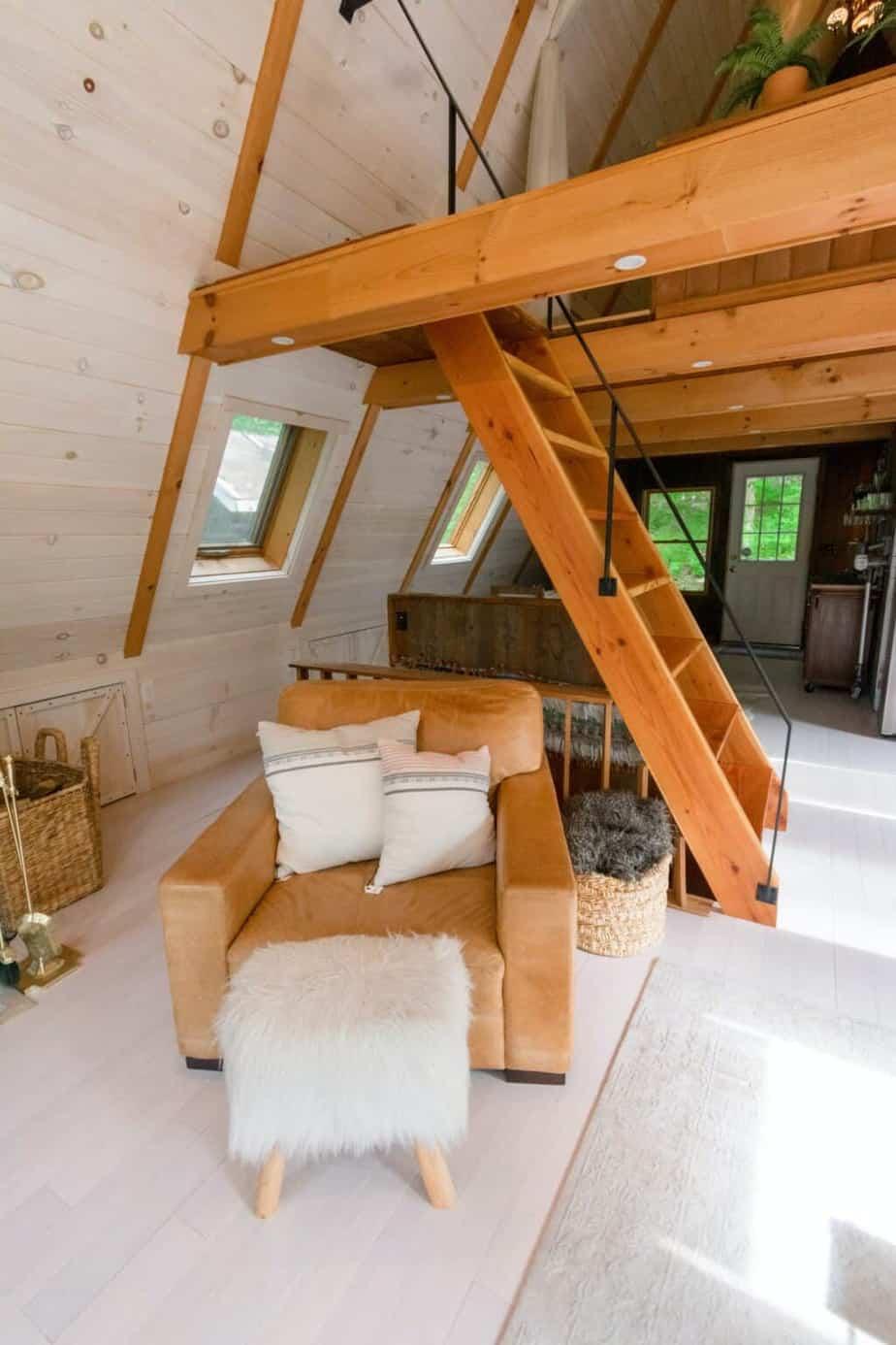 Poddasze w stylu rustykalnym | Duszyńska Design