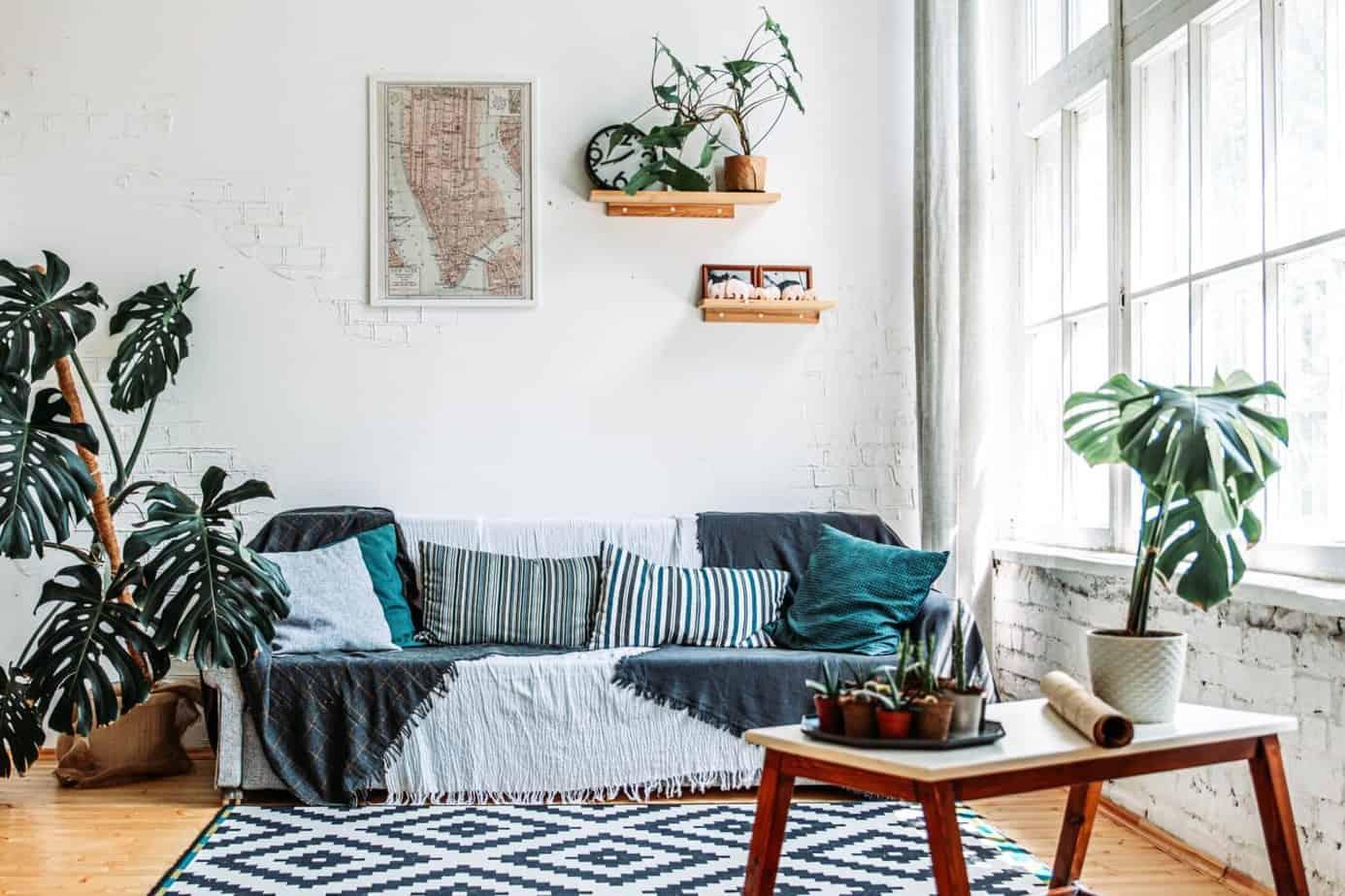 projekt wnętrza, pokój dzienny | Duszyńska Design