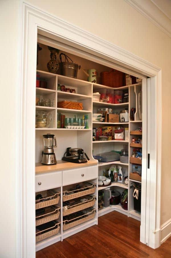 Spiżarnia wyposażenie IKEA| Projektowanie wnętrz Duszyńska Design