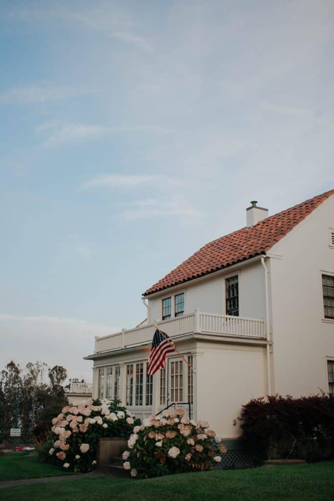 Okna domów amerykańskich