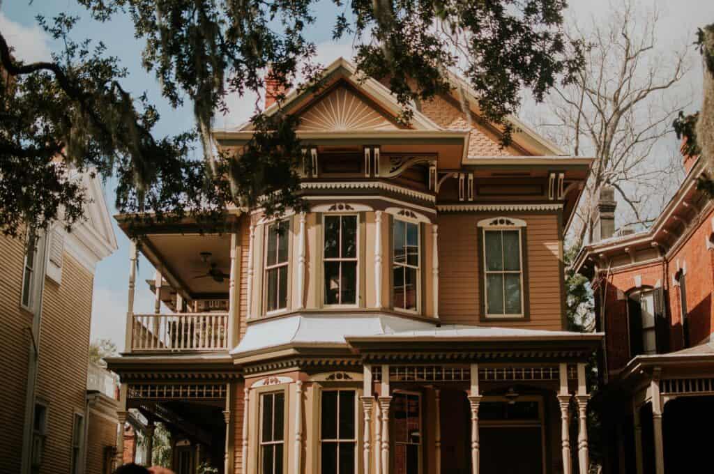 Piękny dom w stylu amerykańskim