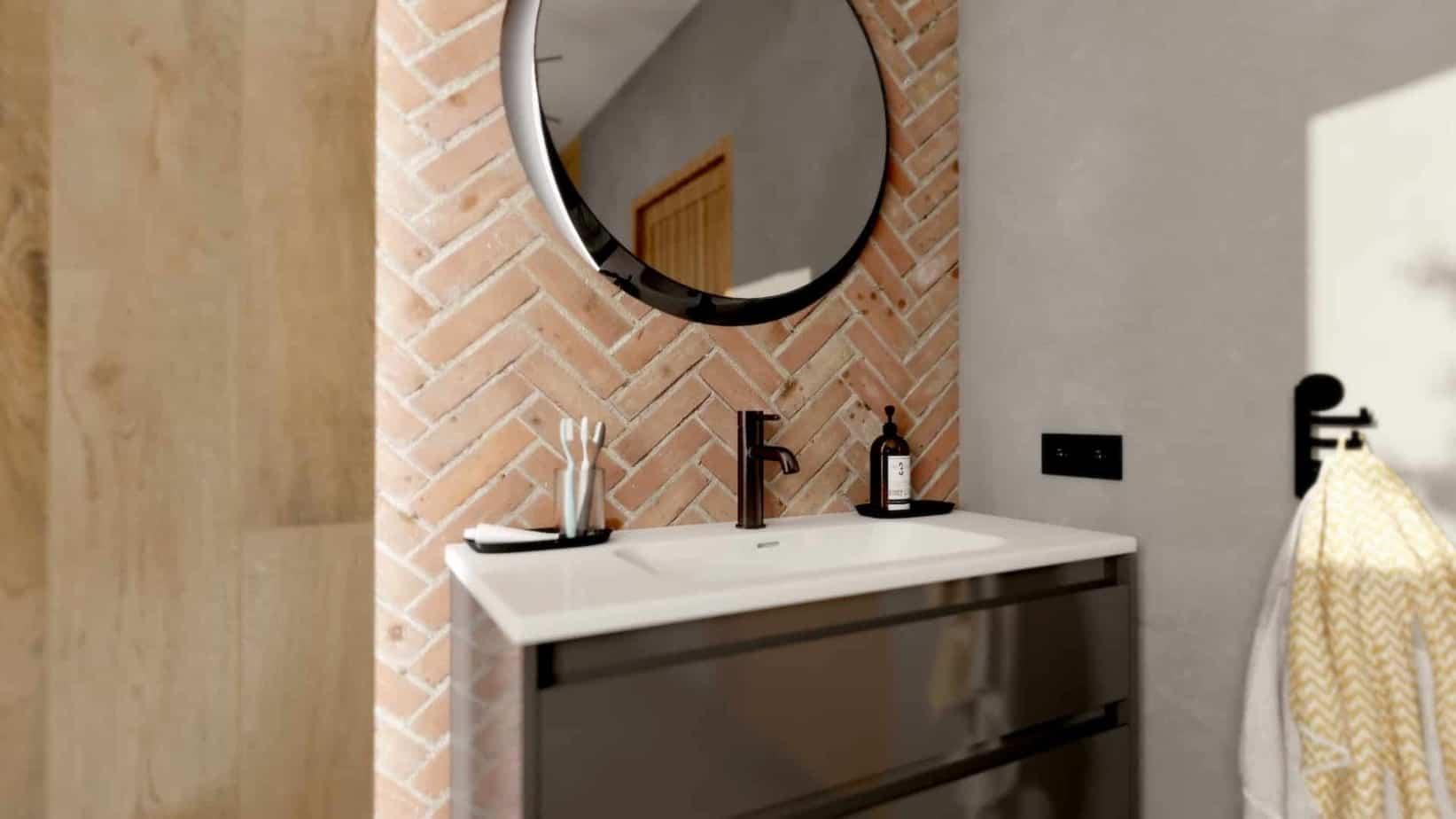 łazienka w stylu loft | Projekt Duszyńska Design