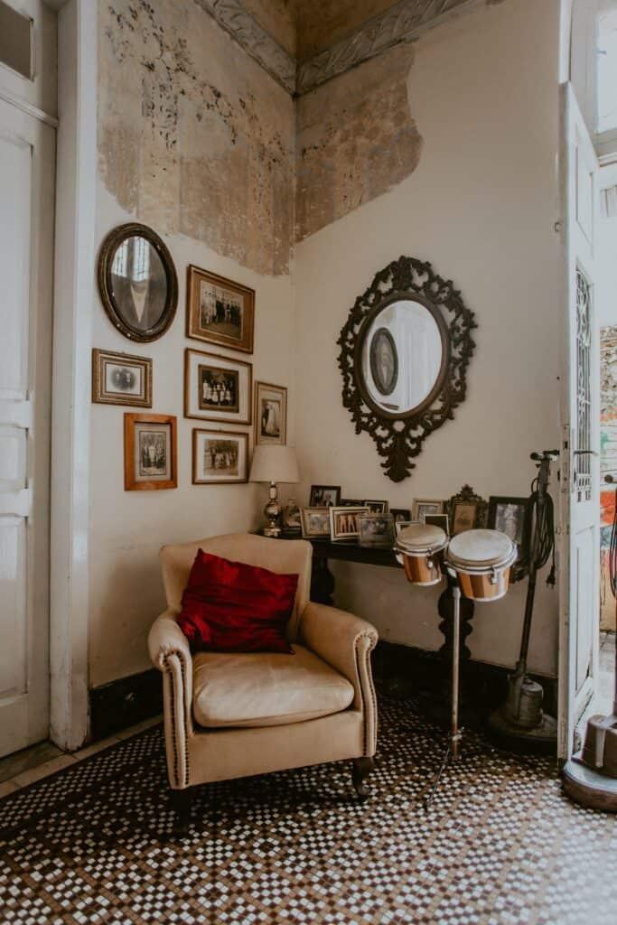 Pokój glamour | projektowanie wnętrz Duszyńska Design