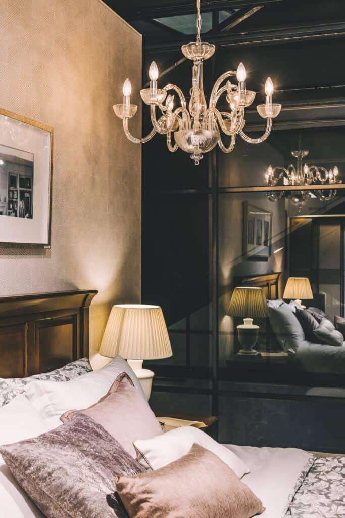sypialnia w stylu glamour Duszynska Design 13