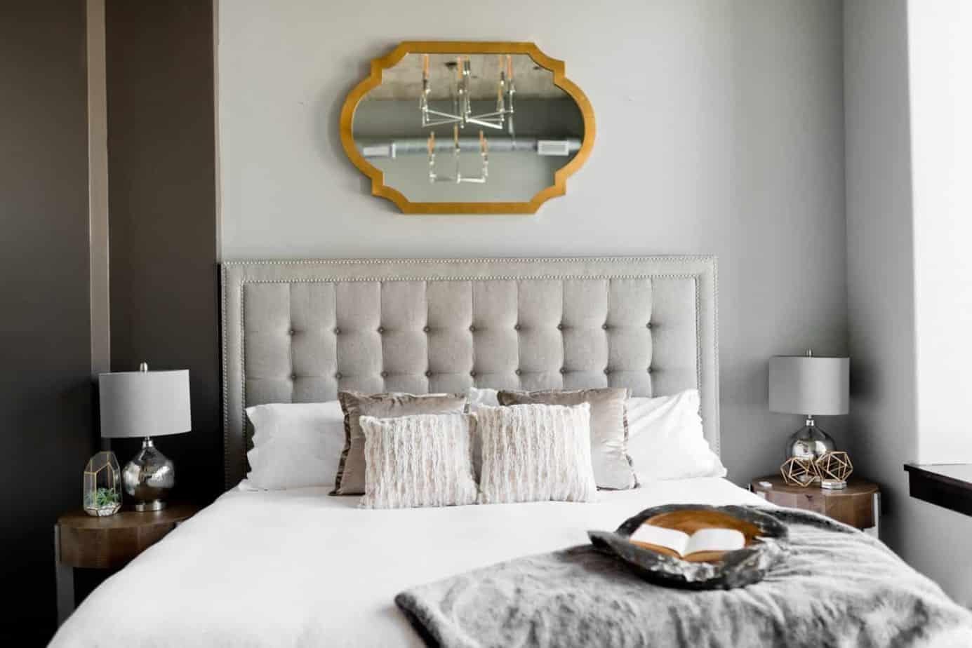 sypialnia w stylu glamour Duszynska Design 18