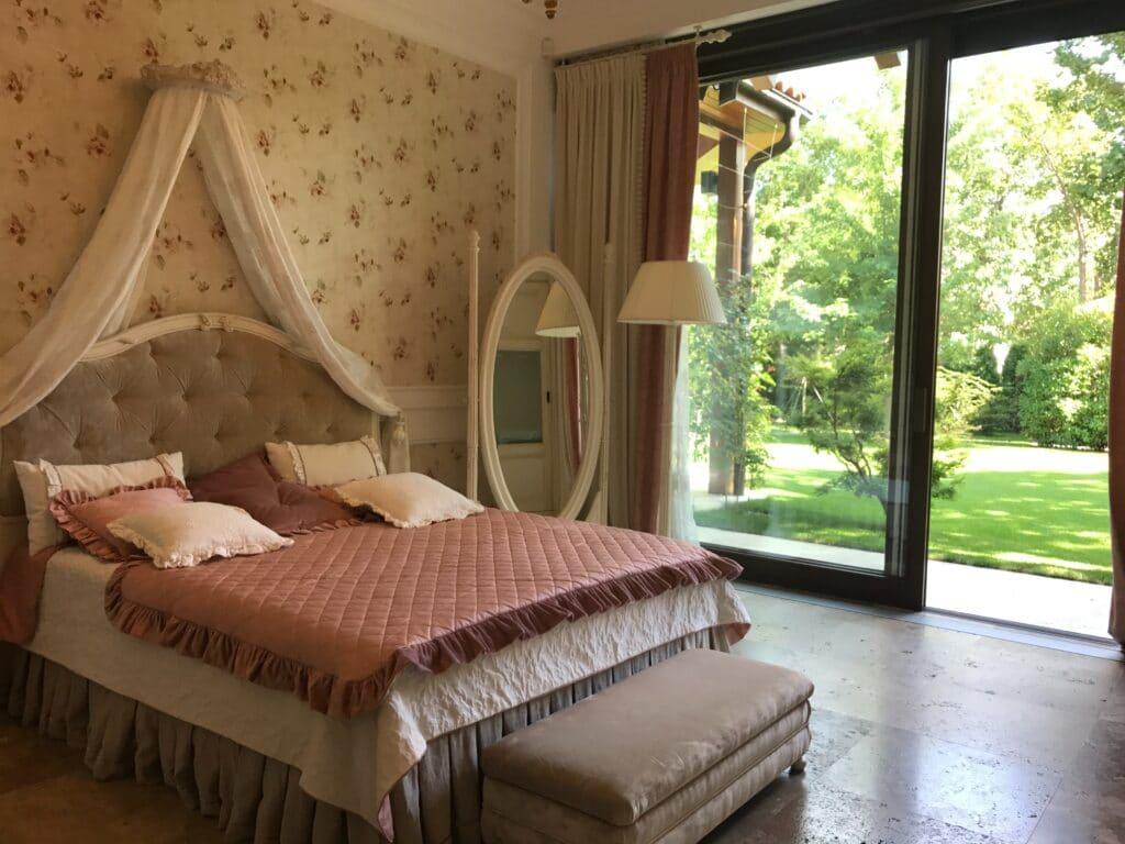 sypialnia w stylu glamour Duszynska Design 3