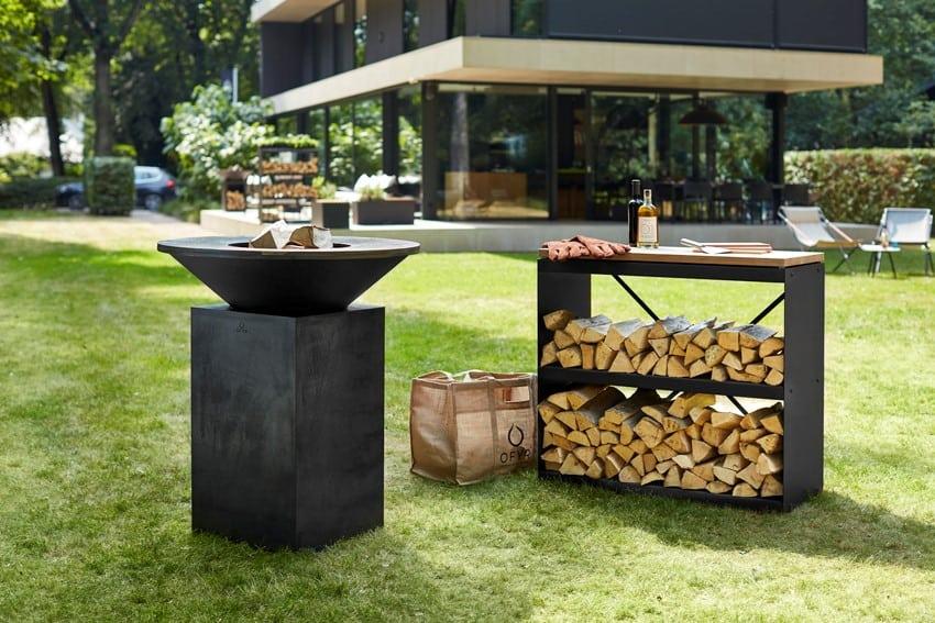 Ogrodowa strefa wypoczynku / grill