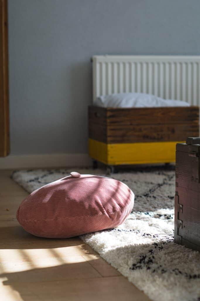 piękny puszysty dywan