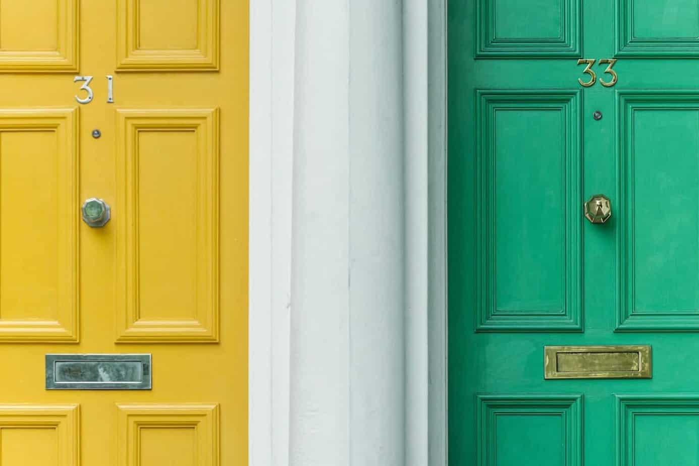 1_Drzwi z odwrotną przylgą   Duszyńska Design - projektowanie wnętrz