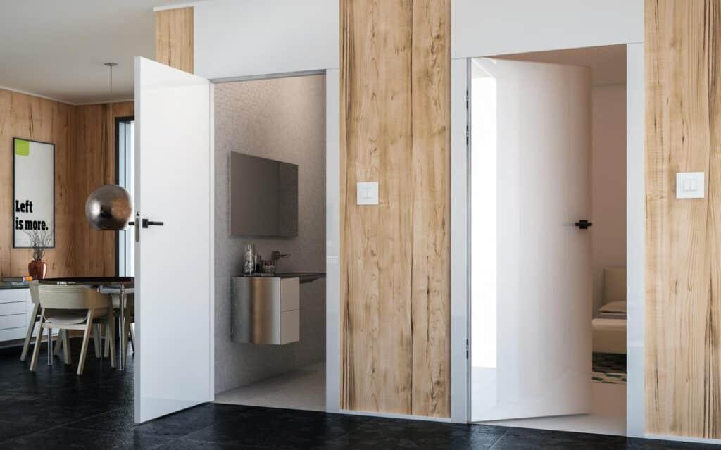 drzwi z odwrotna przylga