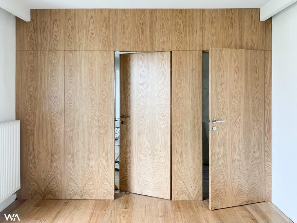 7 Drzwi z odwrotną przylgą   Duszyńska Design - projektowanie wnętrz