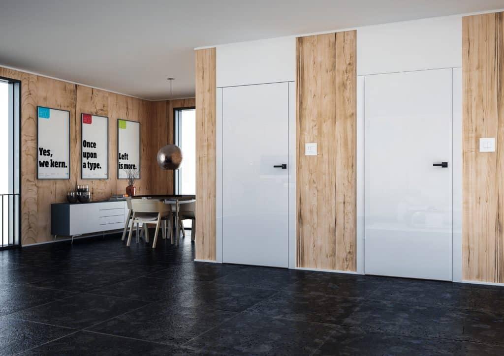 4 Drzwi z odwrotną przylgą   Duszyńska Design - projektowanie wnętrz