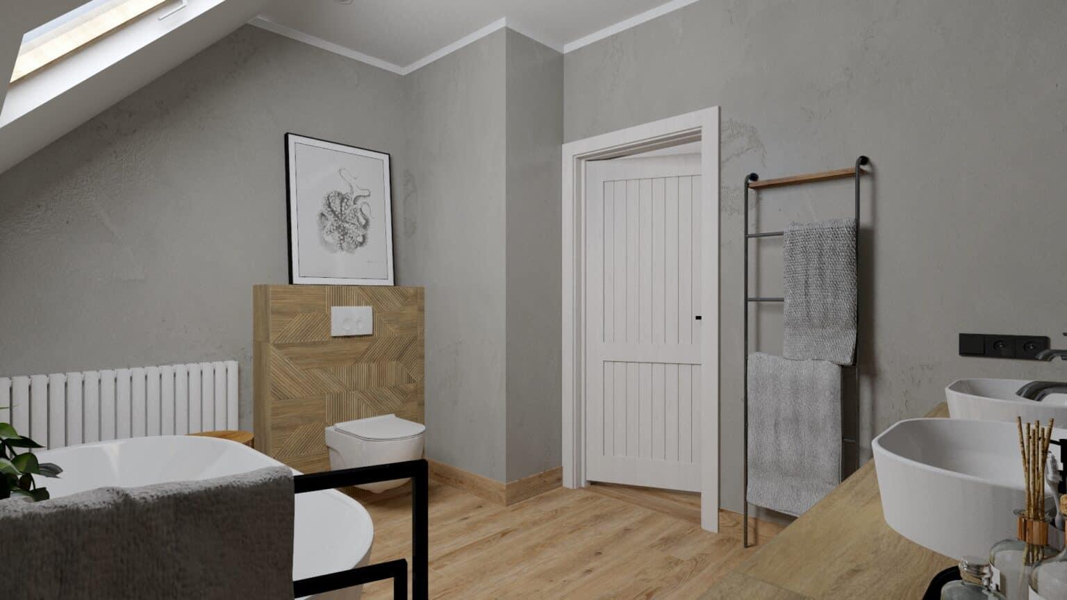 łazienka drewno i beton (15)