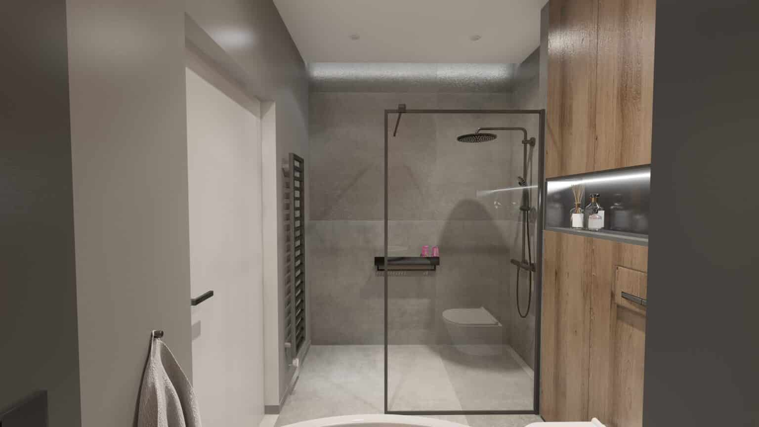 łazienka drewno i beton (8)