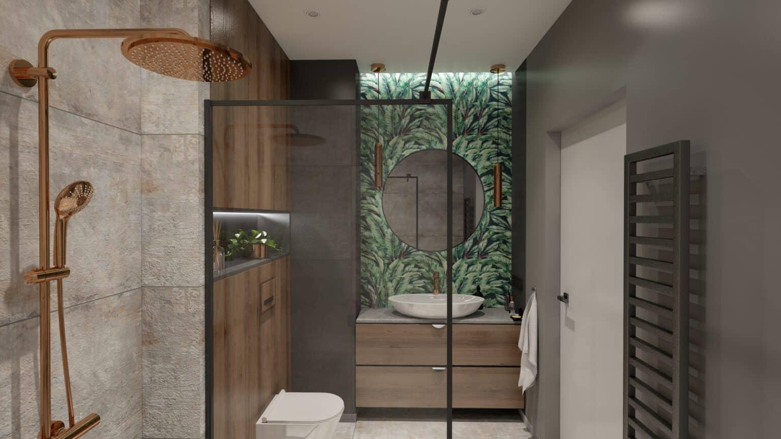 łazienka drewno i beton (9)