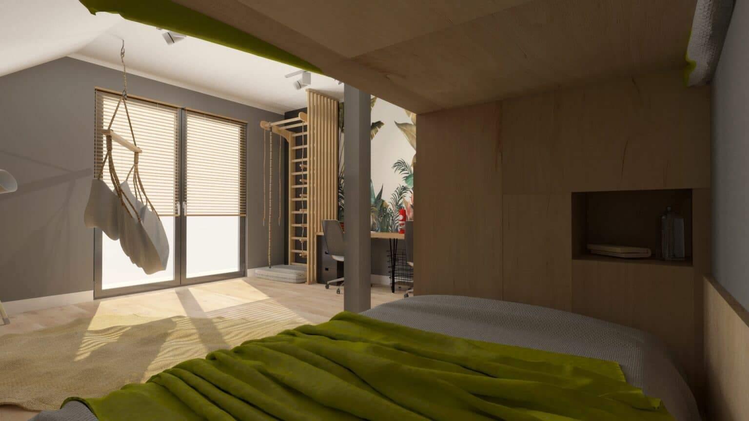 Jak urządzić pokój dla rodzeństwa 2 | Projektowanie wnętrz Duszyńska Design