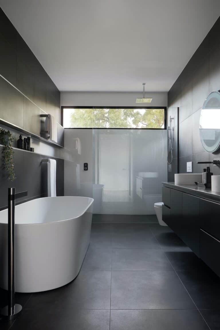 Nowoczesna łazienka 1 / nowoczesna wanna