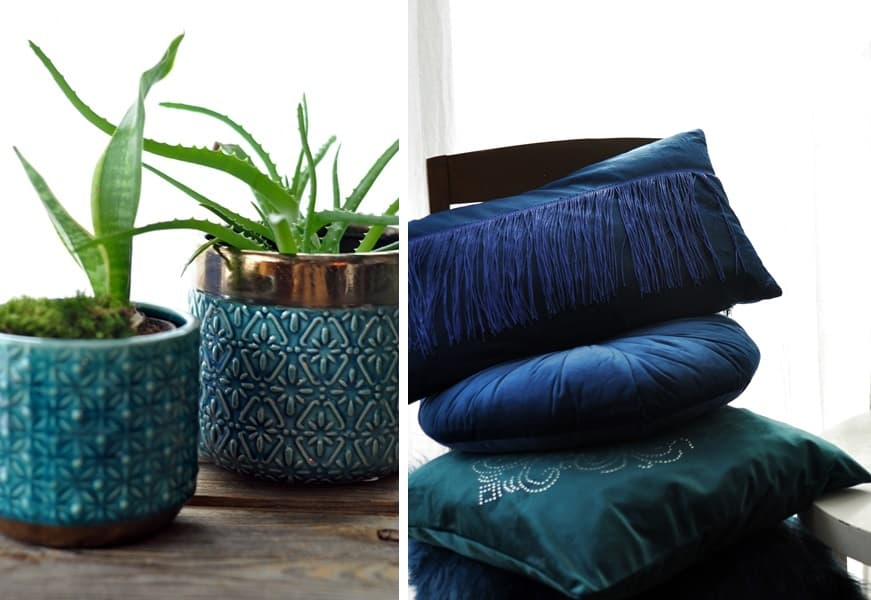 Piękne dekoracyjne poduszki